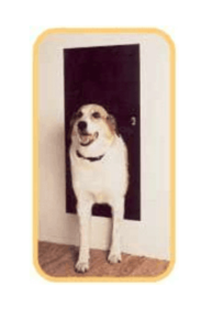 solo pet automatic electronic dog and cat door image