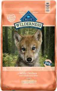 Blue Buffalo Wilderness Large Breed Puppy Chicken Recipe Grain-Free Dry Dog Food