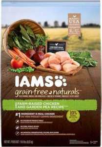 IAMS Grain-Free Naturals Chicken & Garden Pea Recipe Adult Dry Dog Food