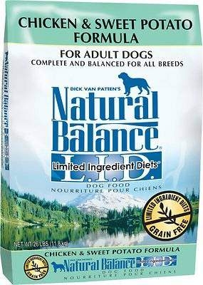 Natural Balance L.I.D. Limited Ingredient Diets Chicken & Sweet Potato Formula Grain-Free