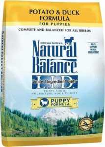 Natural Balance L.I.D. Limited Ingredient Diets Puppy Formula Potato & Duck Formula Grain-Free