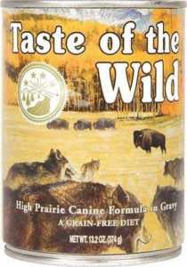 Taste of the Wild High Prairie Grain-Free Canned Dog Food
