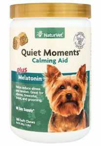 NatureVet Quiet Moments Plus Melatonin