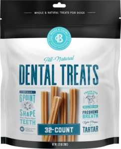 Bones & Chews All-Natural Dental Chew Sticks