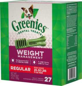 Greenies Weight Management Regular Dental Dog Treats