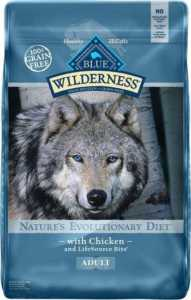 Blue Buffalo Wilderness Chicken Recipe Grain-Free Dry Dog Food