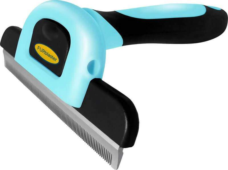 Dakpets Furblaster Deshedding & Light Trimming Tool for Long & Short Hair Dogs