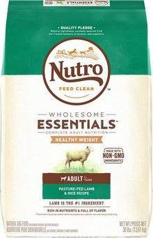 Nutro Wholesome Essentials Adult Dry Dog Food - Lamb & Rice
