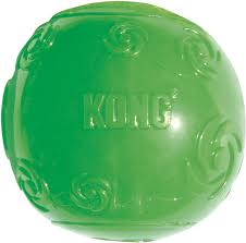 KONG Squeezz Ball Dog Toy, Color Varies - best cheap dog toys