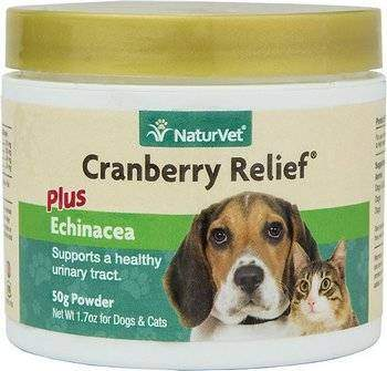 NaturVet Cranberry Relief Urinary Support Dog & Cat Powder Supplement