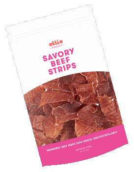 Ollie Savory Beef Strips