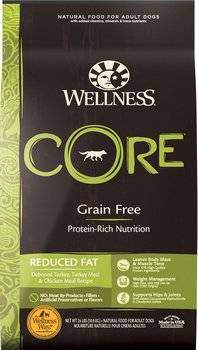 Wellness CORE Grain-Free Reduced Fat Dry Dog Food- Turkey & Chicken Recipe