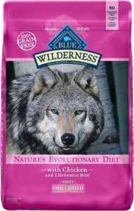 Blue Buffalo Wilderness Small Breed Chicken Recipe Grain-Free Dry Dog Food