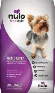 Nulo FreeStyle Grain-Free Small Breed Salmon & Red Lentils Recipe Dry Dog Food