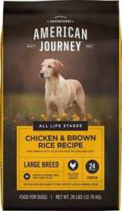 American Journey Large Breed Chicken & Brown Rice Protein First Recipe Adult Dry Dog Food