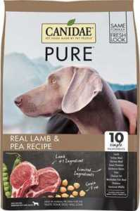 CANIDAE Grain-Free PURE Real Lamb & Pea Recipe Dry Dog Food