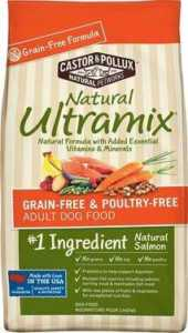 Castor & Pollux Natural Ultramix Salmon Grain-Free & Poultry-Free Recipe