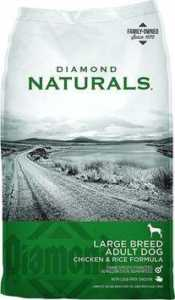 Diamond Naturals Large Breed Adult Chicken & Rice Formula