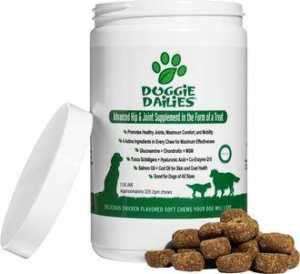 Doggie Dailies Advanced Hip & Joint Dog Supplement