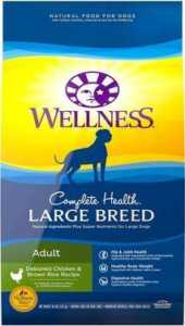 Wellness Large Breed Complete Dry Dog Food