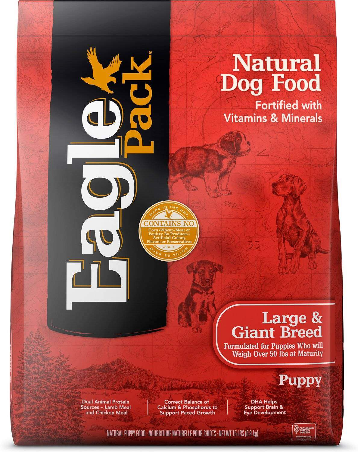 Eagle Pack Large & Giant Breed Puppy Dry Dog Food