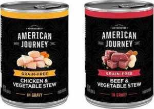 American Journey Stews Poultry & Beef Variety Pack Grain-Free Canned Dog Food