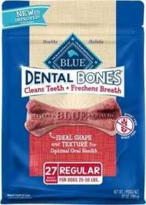 Blue Buffalo Dental Bones All-Natural Regular Dog Treats