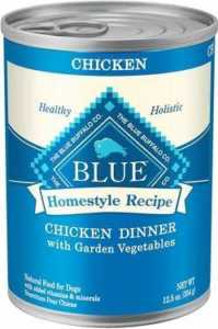 Blue Buffalo Homestyle Recipe Chicken Dinner With Garden Vegetables & Brown Rice Canned
