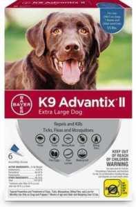 K9 Advantix II Flea, Tick, & Mosquito Prevention For Dogs