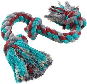 Mammoth Cottonblend 3-Knot Dog Rope Toy
