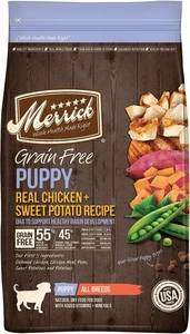Merrick Grain-Free Puppy Real Chicken & Sweet Potato Recipe Dry Dog Food