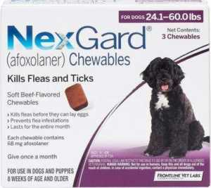 NexGard Chewable Tablets For Dogs