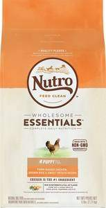 Nutro Wholesome Essentials Puppy Farm-Raised Chicken, Brown Rice & Sweet Potato Recipe Dry Dog Food