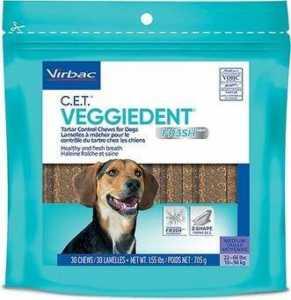 Vibrac C.E.T. VeggieDent Fr3sh Tartar Control Chews