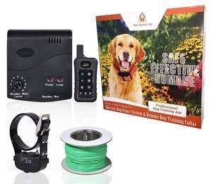 Pet Control HQ Wireless Electric Fence and Remote Dog Training System