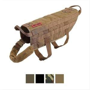One Tigris Tactical Training Molle Dog Vest Harness