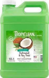 TropiClean Medicated Oatmeal & Tea Tree Dog Shampoo