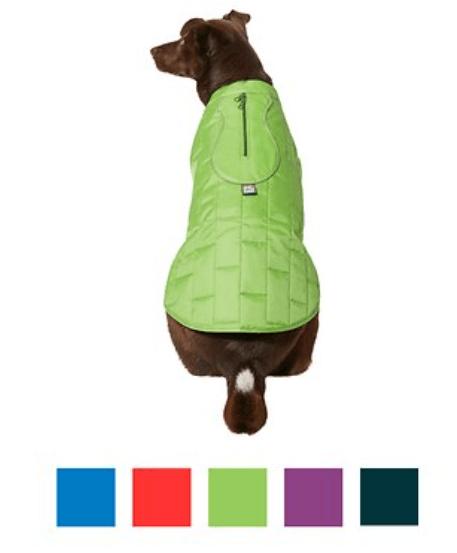 Kurgo Loft Reversible Insulated Dog Quilted Coat