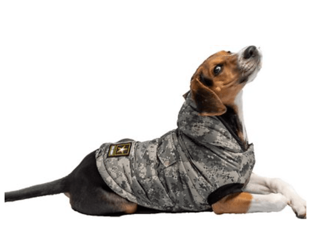 US ARMY Insulated Quilted Dog Parka