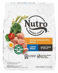 Nutro Natural Choice Large Breed Adult Chicken & Brown Rice Recipe Dry Dog Food