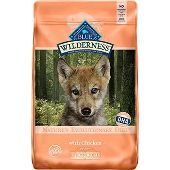 Blue Buffalo Wilderness Large Breed Puppy Recipe