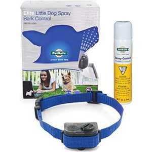 PetSafe Elite Little Dog Waterproof Spray Dog Bark Collar