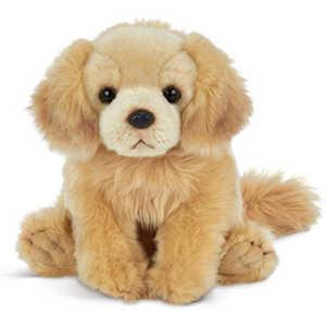 Bearington Goldie Plush Golden Retriever Stuffed Animal