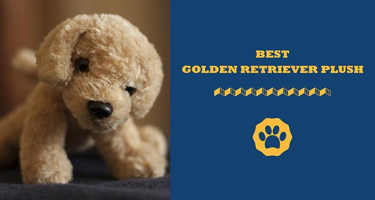 best golden retriever plush